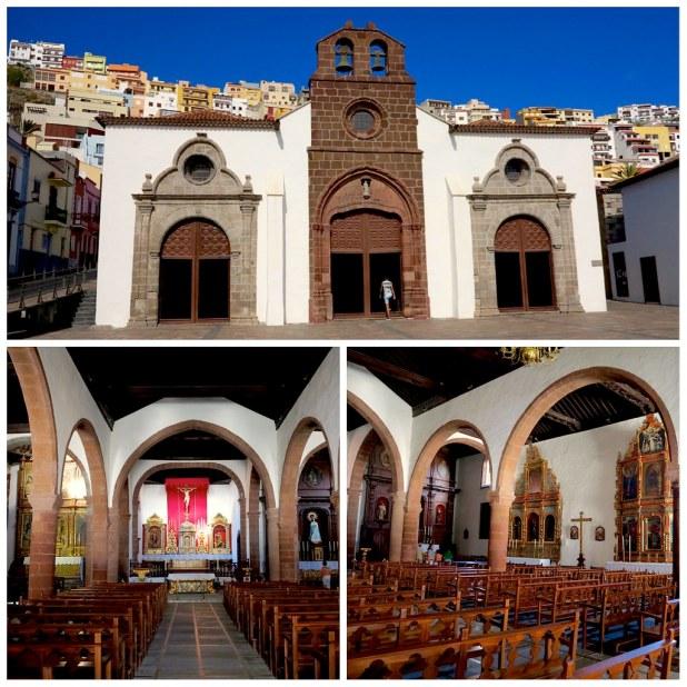 Iglesia asuncion La Gomera