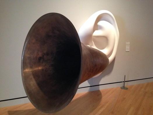 John Baldessari: Beethoven's Trumpet (With Ear)