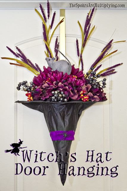Witch's Hat Door Hanging