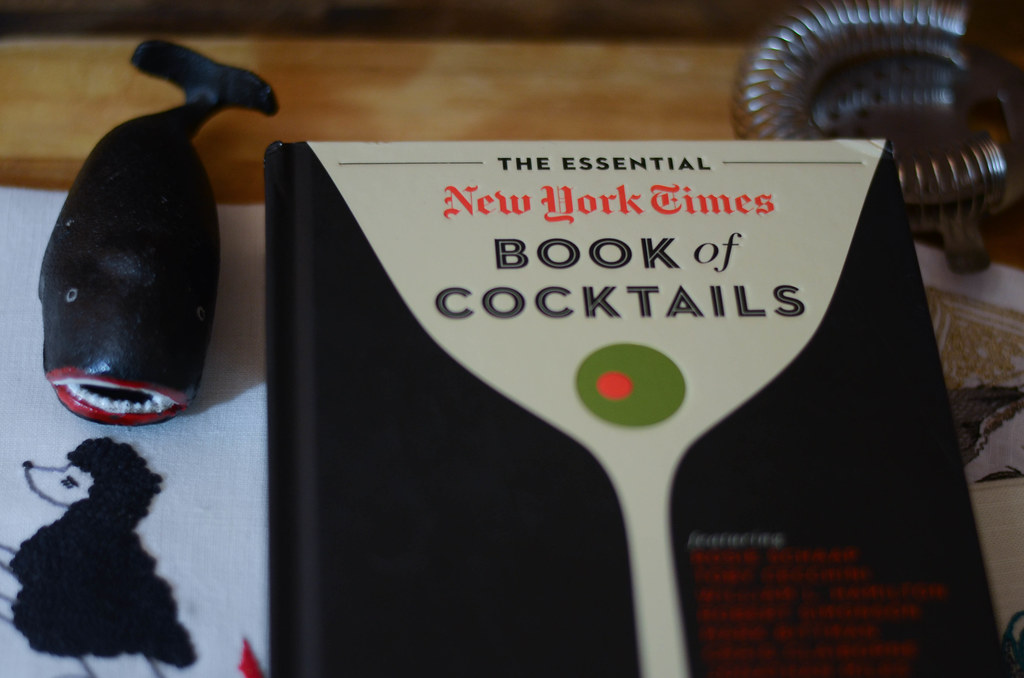 My Favorite Cocktail Books