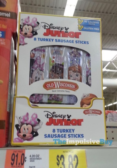 Old Wisconsin Disney Junior Turkey Sausage Sticks