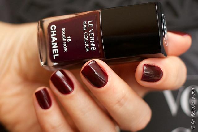 04 Chanel 18 Rouge Noir Ann Sokolova swatches