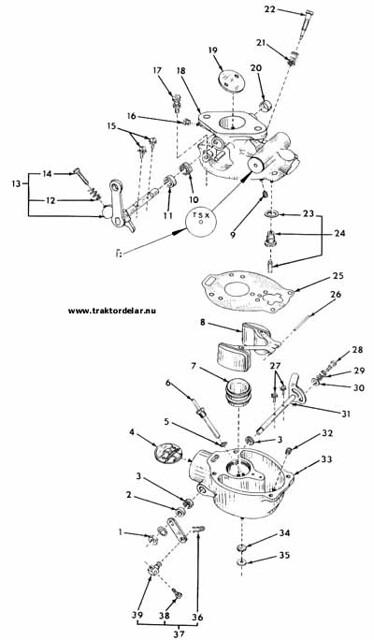 farmall 400 carburetor diagram