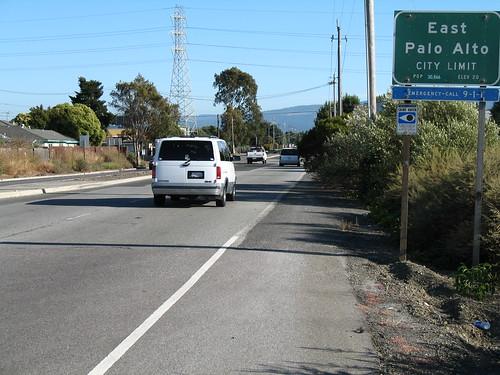 East Palo Alto Bicycle Lane