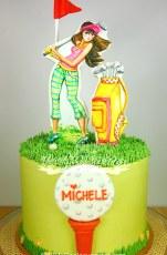Little golf cake
