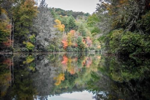 Cascade Lake and Hooker Falls-35