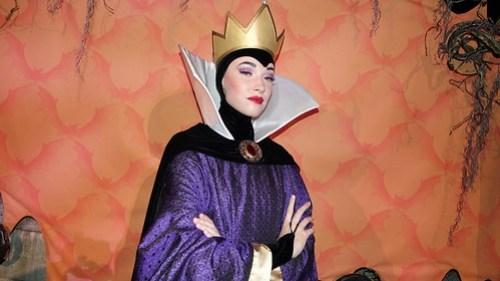 Queen Grimhilde at Disneyland Halloween Party