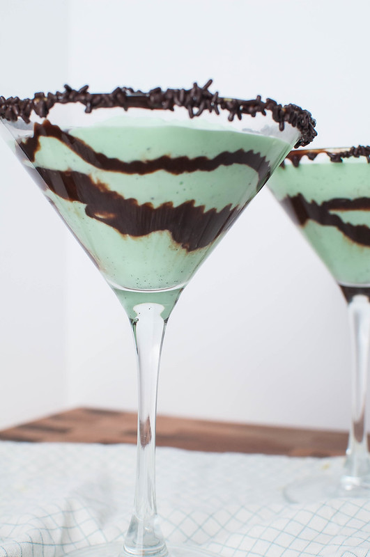 Mint Chocolate Mocktinis 2