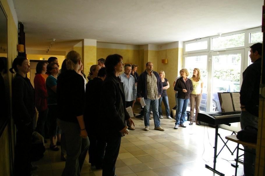 2008-07-21 Studio CD Aufnahmen, Scala Ludwigsburg, 21. Juli 2008