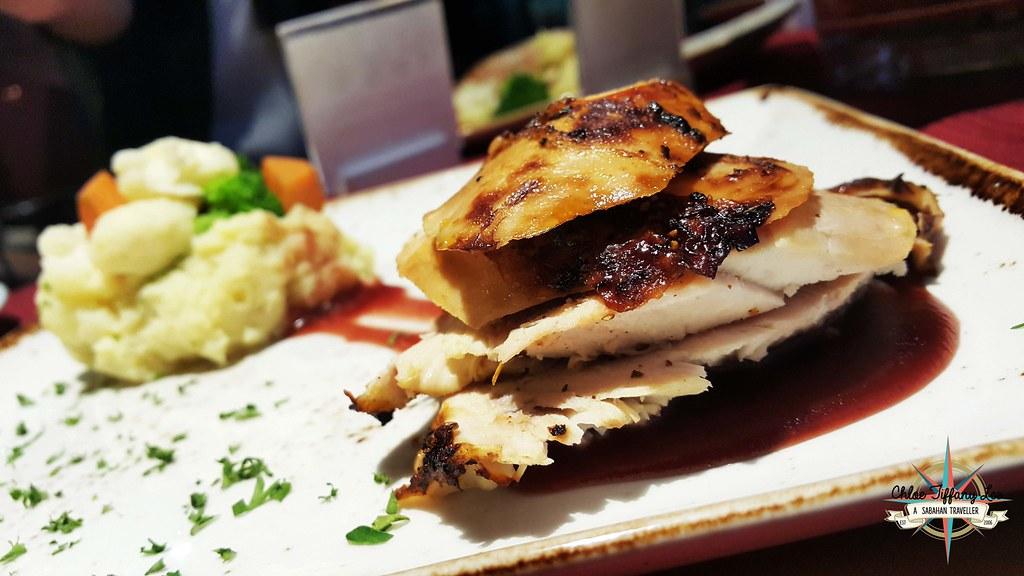 Sliced Roasted Turkey, Christmas Eve Set Dinner and the New Year Eve's Set Dinner, Avangio Hotel, Metro Town, Kota Kinabalu, Sabah, Chloe Tiffany Lee6