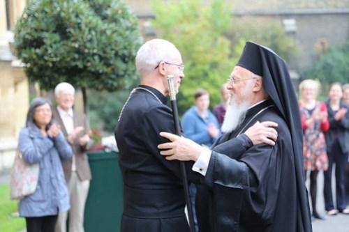 Patriarch Bartholomew visits Lambeth