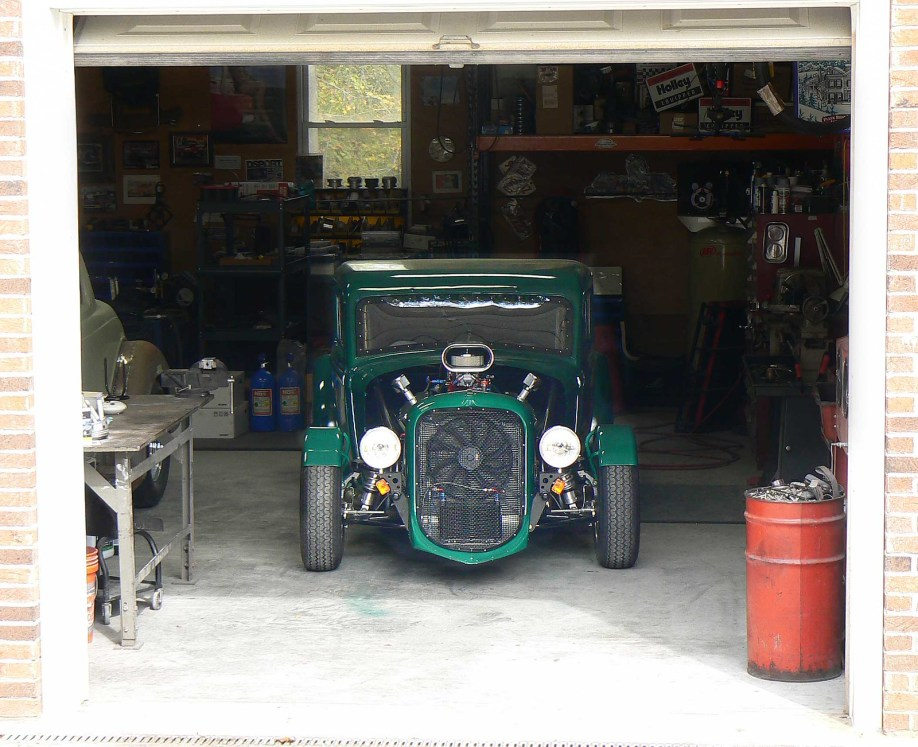 1933 Plymouth Coupe photos from build