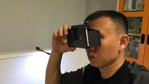 ลองใช้ Baseus VR มันจะออกมาแบบนี้ นี่รูปด้านข้าง