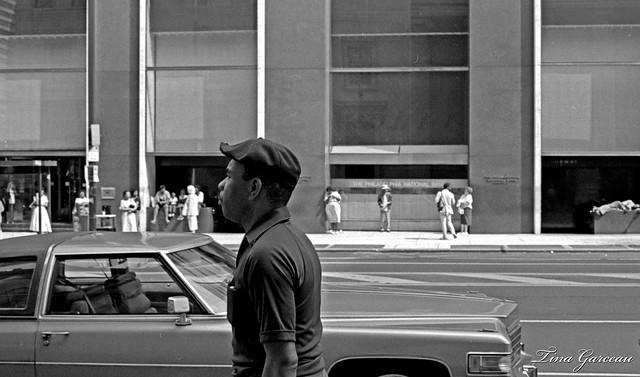 Across the street from The Philadelphia National Bank