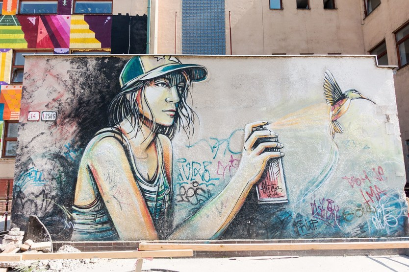 Street Art Bratislava, Slovakia