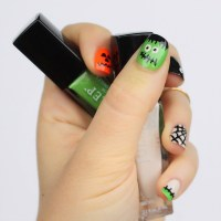Crazy Halloween Nails - Living After Midnite