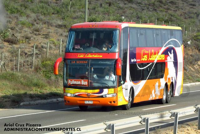 Pullman Los Libertadores (Pullman Bus) - Norte Chile - Marcopolo Paradiso 1800 DD / Volvo (CSBD92) (2226)