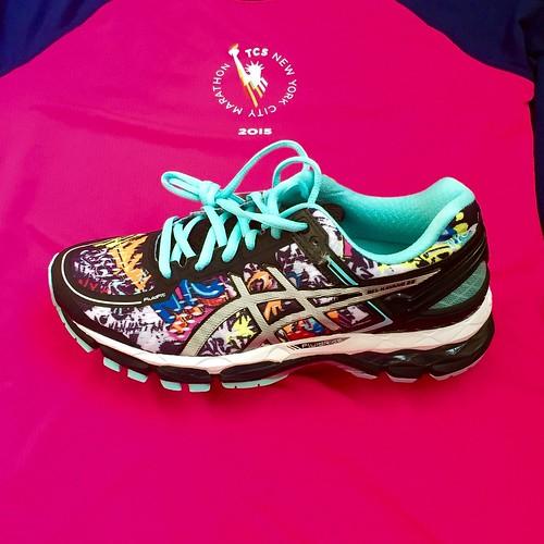 ASICS Gel Kayano 22 NYC Marathon 2015