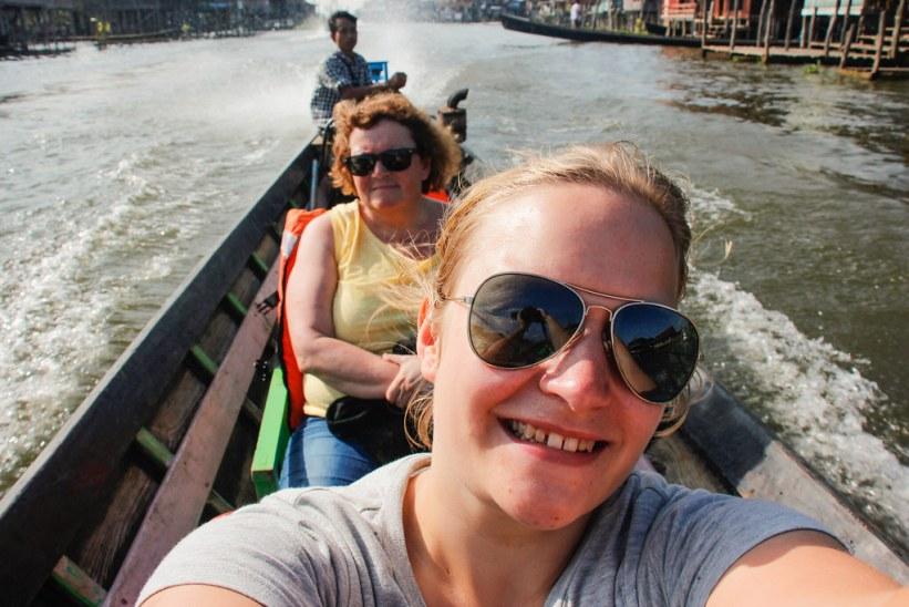 hyr din egen båd og tag på bådtur på Inlesøen i Burma
