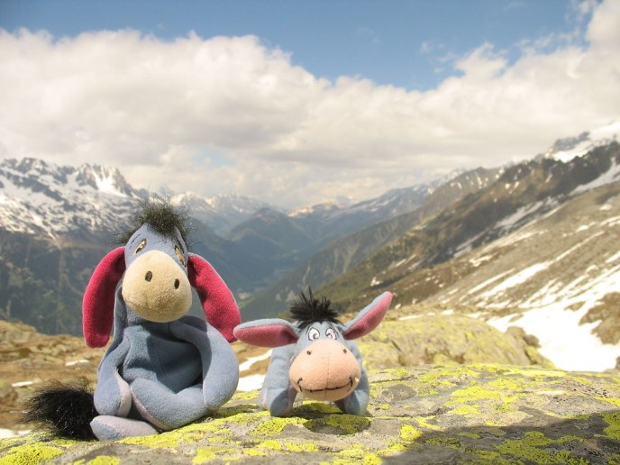 Eeyore's in the Alps, Chamonix, France