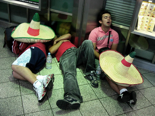 Image result for lazy mexicans sleeping