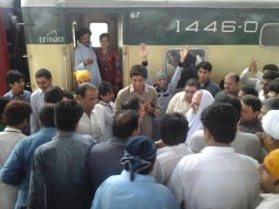 Welcome Sain Sadhram Sahib at Pooj Raherki Sahib (18)