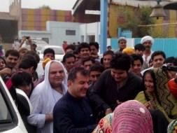 Welcome Sain Sadhram Sahib at Pooj Raherki Sahib (19)