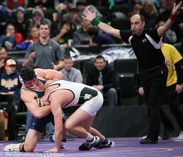 195AA - 3rd Place Match - Ty Moser (Perham) 44-2 won by decision over Will Storch (Wem-jwp) 38-4 (Dec 8-6)