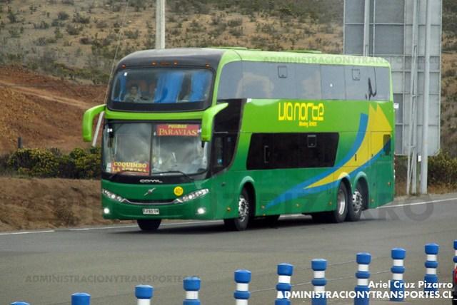 Paravías (Vía Norte) - Puerto Oscuro - Comil Campione DD / Volvo (FJBS24)