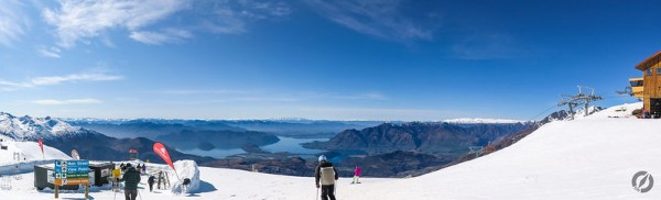 Treble Cone Ski Area, Wanaka, New Zealand