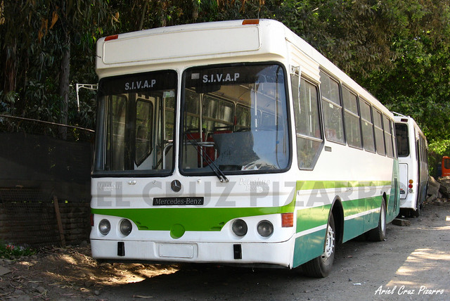 Sindicato Vital Apoquindo (Buses Metropolitana) - Metalpar Petrohué 2000 / Mercedes Benz (RG5947)