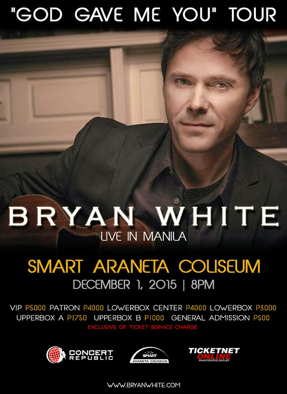 Bryan White poster