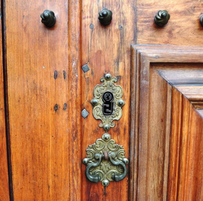 Random Shot of a Door at the University of Coimbra, Portugal.