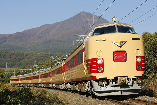 Series 485 An extra train For B-1 GP in Koriyama