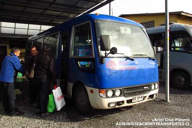 Buses Coñaripe - Villarrica - Mitsubishi Fuso Rosa (DZTP91)