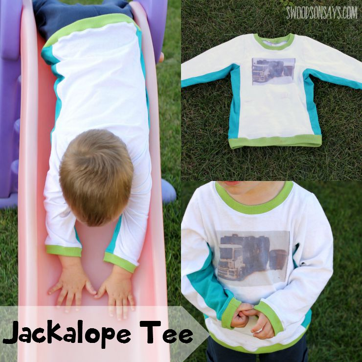 Jackalope Tee by Momma Quail Patterns - From One Thimble E-Magazine