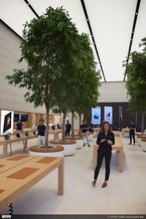 Apple Store Brussels, best ruim!