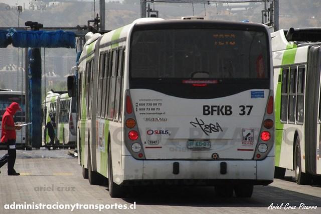 Transantiago - Subus Chile - Marcopolo Gran Viale / Volvo (BFKB37) (9547)