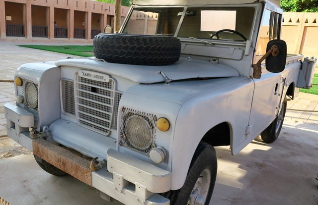 landrover al ain palace museum