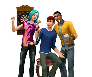 render Les Sims 4 Vivre ensemble