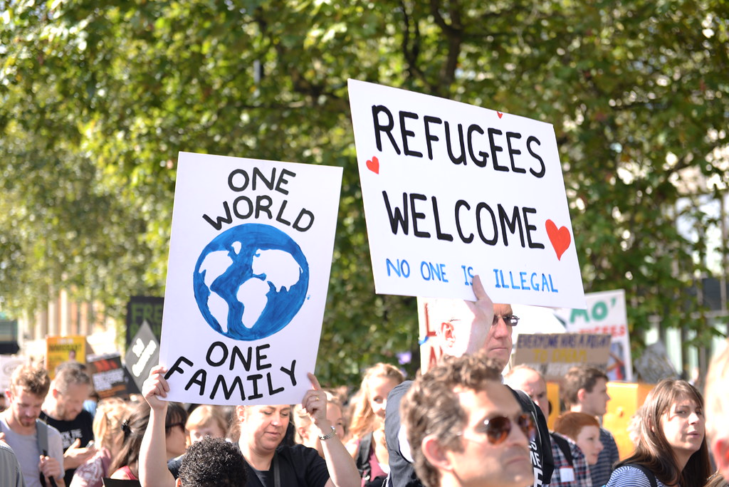 One world - Refugees Welcome