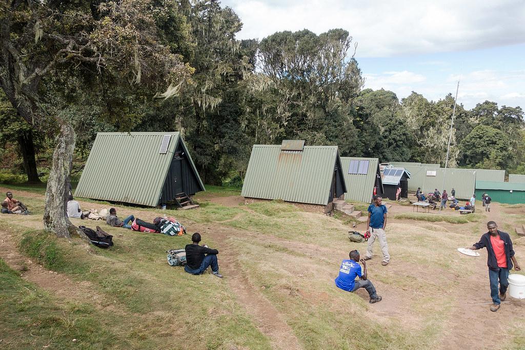 Mandara Hut Camp.