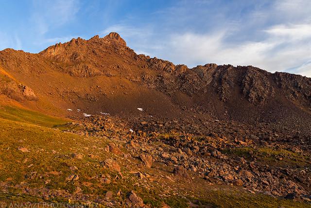 Wetterhorn Peak Sunrise