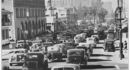 Wilshire Boulevard traffic congestion