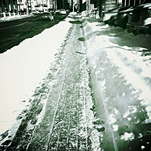 Buh bye snowy sidewalks. I'm trading you in for toasty sand. If you're not clean and dry in a week I may not come back.