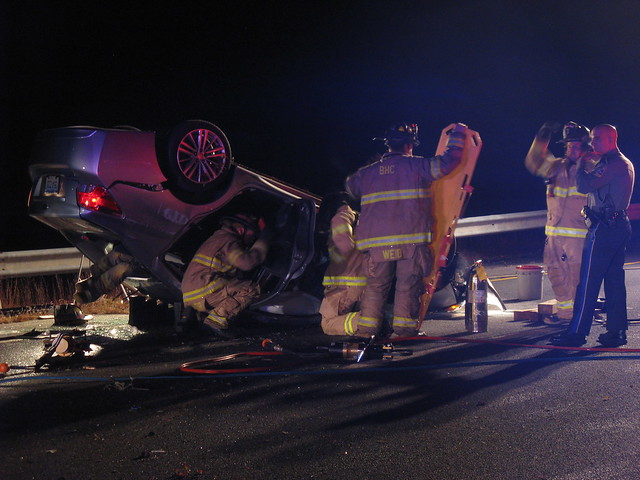 Route 8 Rollover, Oct. 2015