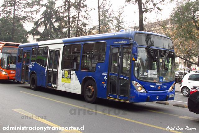 Transantiago - Subus Chile - Marcopolo Gran Viale / Volvo (BJFJ92) (7335)