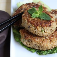 Miso Brown Rice Cakes