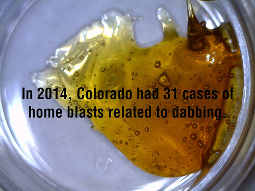 dabbing wax causes home blast