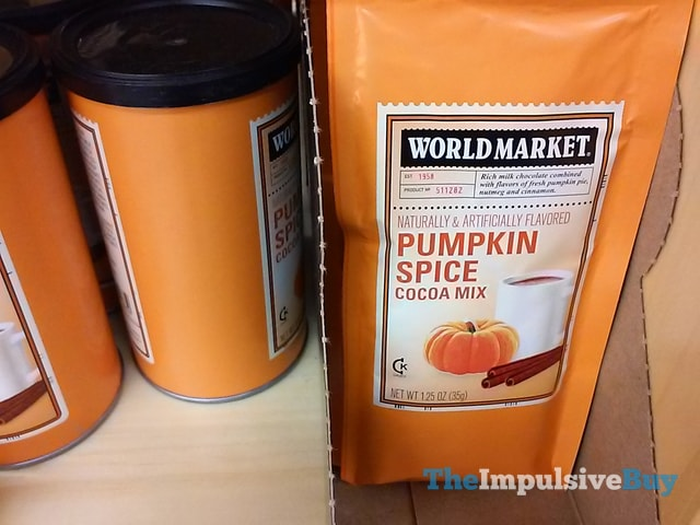 World Market Pumpkin Spice Cocoa Mix